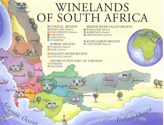 Cape winelands tours for Jardin winery south africa